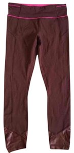 Lululemon Nwt Lululemon Pace Queen Tight Size 4 Bordeaux / Raspberry