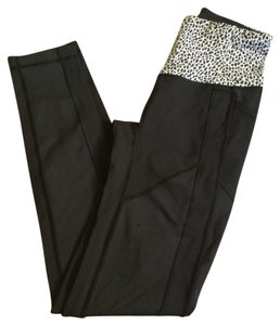 Lululemon Nwt Lululemon All The Right Places Pant Black With White And Black Waistband Designs Sz 4