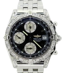 Breitling BREITLING CHRONOMAT 2.4 CT DIAMOND WATCH WITH APPRAISAL