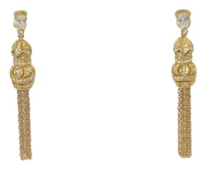 Other WOMEN'S GOLD PLATED DANGLE DROP EARRINGS ONE SIZE ON SALE