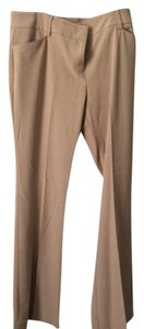 New York & Company Flare Pants Tan
