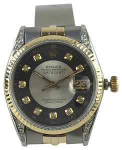 Rolex Rolex 36mm Datejust Two-Tone Sapphire Crystal Watch
