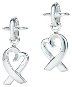 Tiffany & Co. Loving heart Picasso earrings newly polished at Tiffany's