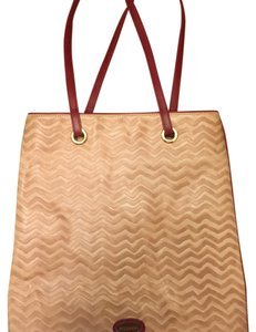 Missoni Tote in Red & Tan