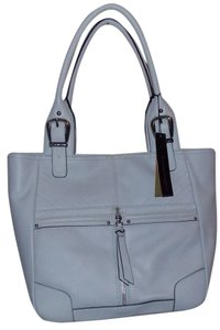 B. Makowsky Tote in dove grey