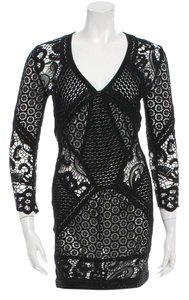 IRO short dress Black Tory Burch Dvf Nightcap on Tradesy