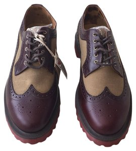 Dr. Martens Brown/Tan Flats