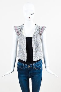 Isabel Marant Gray Blue Pink Multi-Color Jacket