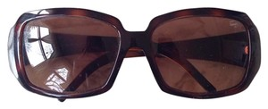 Fendi Fendi F Sunglasses in Brown and Gold