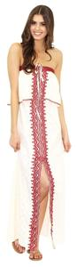 Eggshell Maxi Dress by Free People Boho Festival Summer Maxi