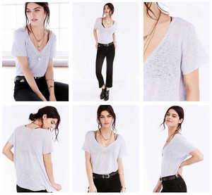 Urban Outfitters T Shirt Silver