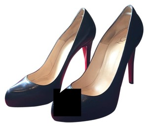 Christian Louboutin Black and red Pumps