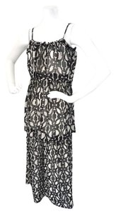 Black & White Maxi Dress by Patterson J. Kincaid Maxi New With Tags Size Small &