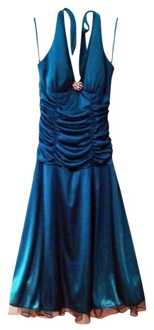 Preload https://item1.tradesy.com/images/ruby-rox-turquoise-blue-mid-length-night-out-dress-size-8-m-1528500-0-1.jpg?width=400&height=650