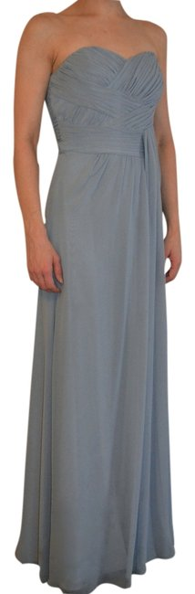 Item - Tahiti (Blue) Sweetheart Rouched Neckline Long Formal Dress Size 6 (S)