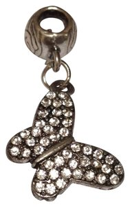 butterfly charm with crystals
