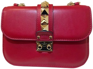 Valentino Glamlock Rockstud Glam Shoulder Bag