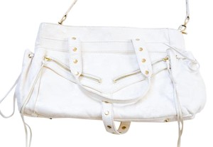 Botkier White Leather Shoulder Bag