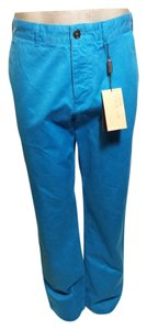 Burberry Khaki/Chino Pants Bright Blue