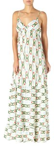 Green and Blue Maxi Dress by Quiksilver Maxi