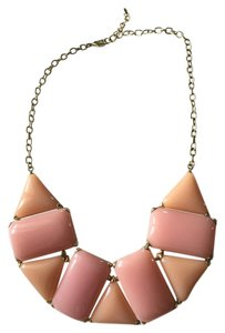 Other Peach Bib Necklace
