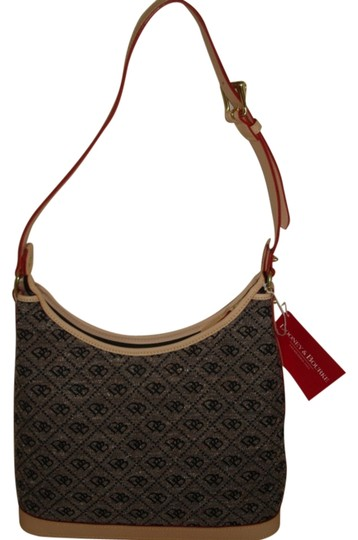 Preload https://item3.tradesy.com/images/dooney-and-bourke-cream-db-quilt-print-black-brown-canvas-hobo-bag-1528652-0-0.jpg?width=440&height=440