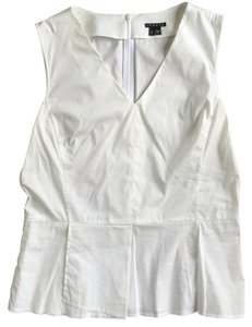 Theory Pleated Top White