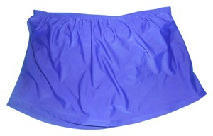Two (2) Catalina Women's Skirted Swimsuit Bottoms, one Black, one purple