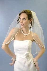 Ribbon Edge Veil- Ansonia 835