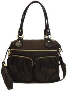 MZ Wallace Thunder Bedford Belle Satchel in Brown