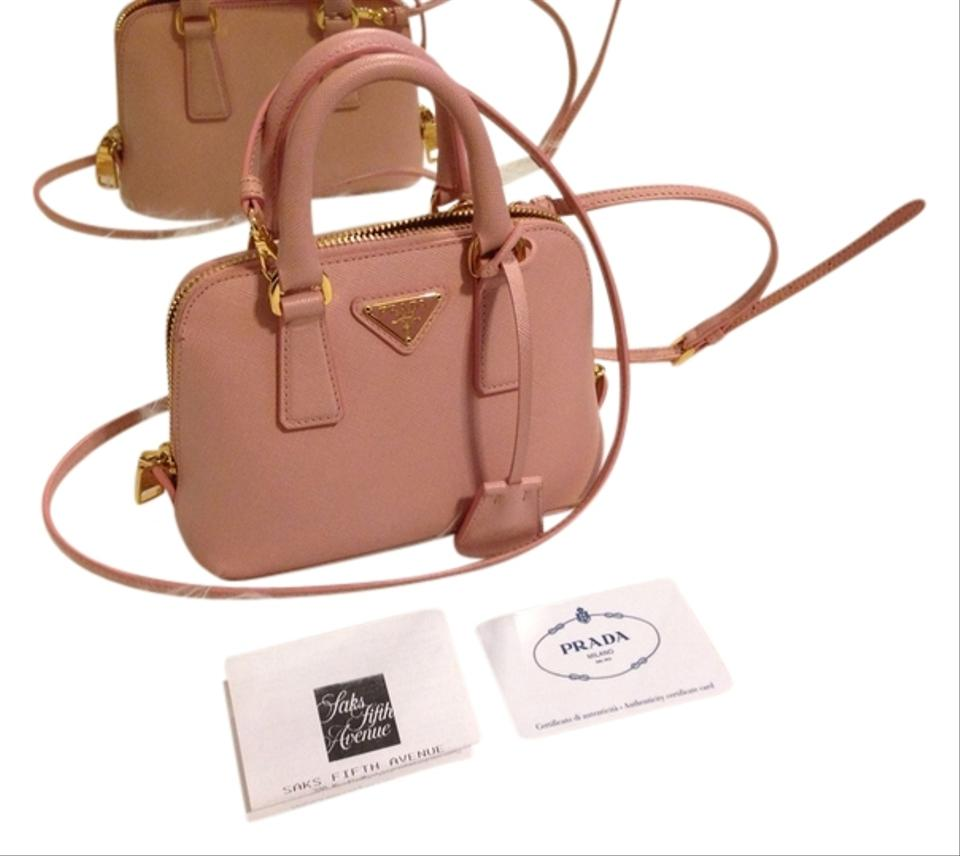 5b28f73ebde47b Prada Promenade Mini Saffiano Orchidea Cross Body Bag - Tradesy