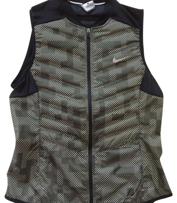 Item - Black Olive Green Aeroloft Down Activewear Outerwear Size 8 (M, 29, 30)