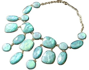 BaubleBar Statement Turquoise Necklace Aqua