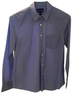 J.Crew Oxford Cotton Button Down Shirt Blue