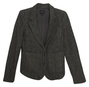 Club Monaco Tweed Herringbone Blazer
