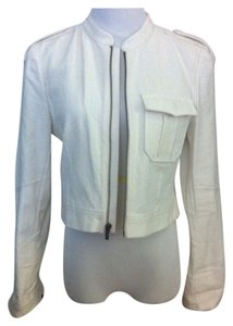 BCBGMAXAZRIA Off White Jacket