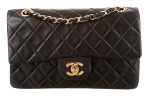 Chanel Leather Quilted Leather Shoulder Bag
