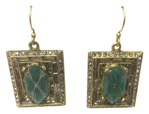 Other Genuine Indian Emerald Gemstone with F aux Black Diamond