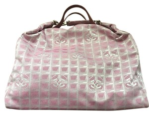 Chanel Travel Boston Pink Travel Bag