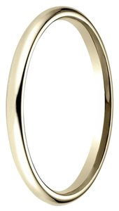 Avi and Co Ladies 14K Yellow Gold Comfort Fit 2 Millimeter Wedding Band
