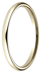 Avi and Co Ladies 18K Yellow Gold Comfort Fit 2 Millimeter Wedding Band
