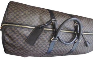 Céline Macadam Xl Travel Duffle Travel Bag