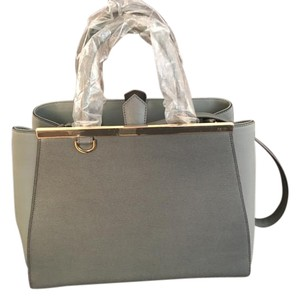 Fendi 2jours Tote in Grey