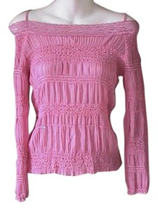 Commando Stretch Long Sleeve Top Pink