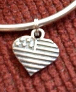 Sterling Silver Heart ?CHARM
