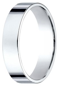Avi and Co Ladies 14K White Gold Comfort Fit 5 Millimeter Wedding Band