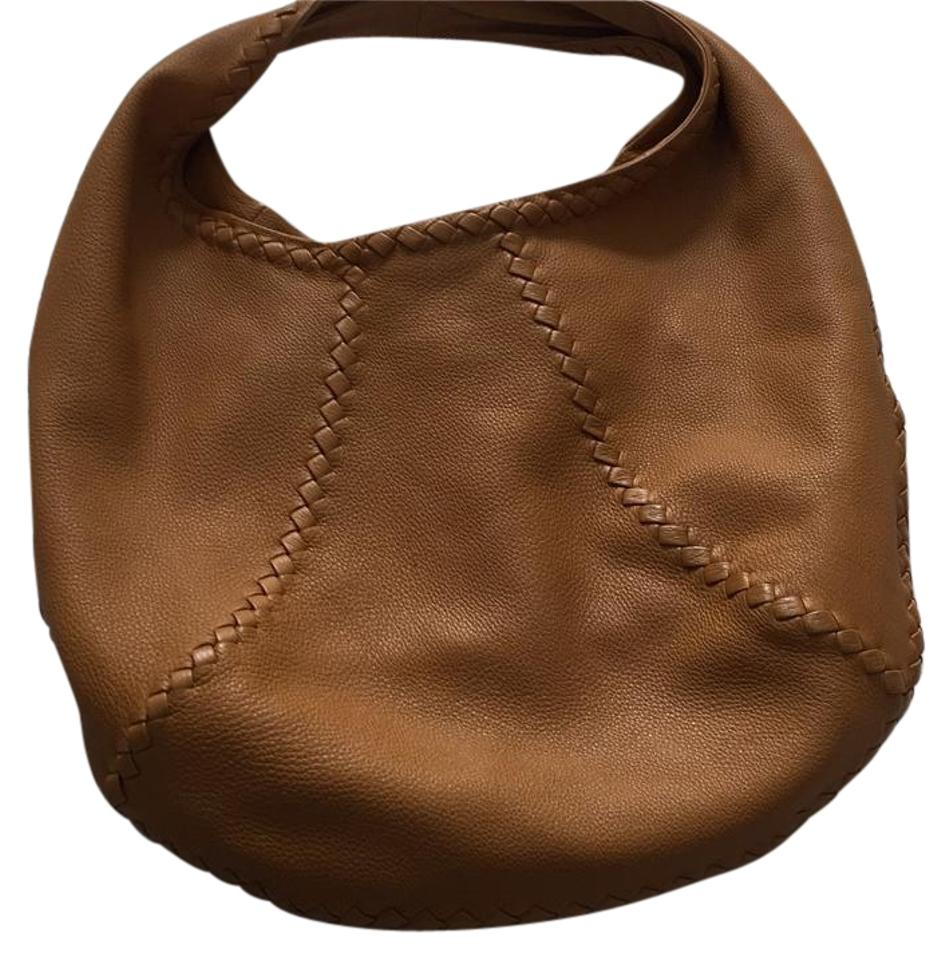 a0e2ca9d12 Bottega Veneta Cervo Large Dark. Mustard Leather Hobo Bag - Tradesy