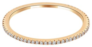 Avi and Co 0.25 cttw Round Brilliant Cut Diamond Extra Thin Eternity Band 18K Rose Gold