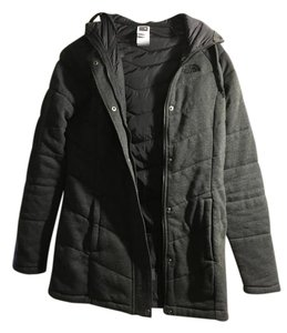 The North Face Gray and black inside Jacket