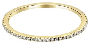 Avi and Co 0.25 cttw Round Brilliant Cut Diamond Extra Thin Eternity Band 18K Yellow Gold